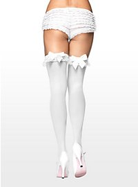White Stockings with Ruffle