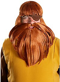 Wickie Halvar wig and beard set