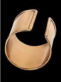 Wide Brass Bracelet