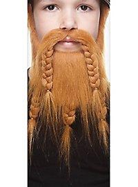 Wikinger Bart für Kinder