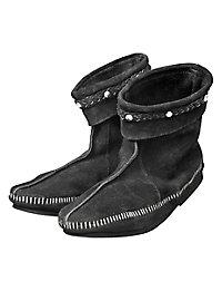 Wikingerschuhe schwarz
