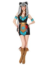 Wild wolf warrior costume