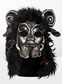 Wildebeest Leather Half Mask