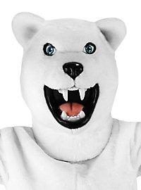 Wilder Eisbär Maskottchen