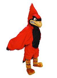 Wilder Kardinal Maskottchen