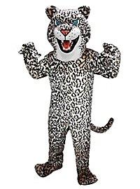Wilder Leopard Maskottchen