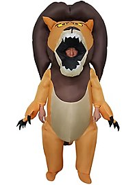 Wilder Löwe Aufblasbares Kostüm