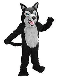 Wilder Wolf Maskottchen