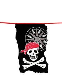 Wimpelkette Jolly Roger