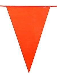 Wimpelkette orange 10 Meter