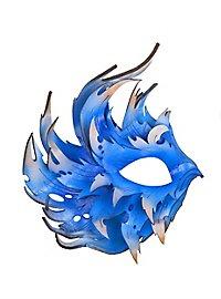 Wing eye mask blue
