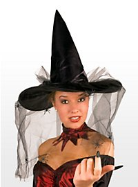 Witch Hat with Spiders