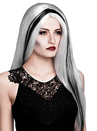 Witch Wig white-black