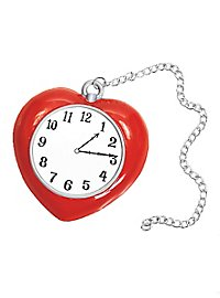 Wizard of Oz Tin Man Heart Clock