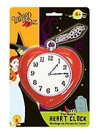 Wizard of Oz Tin Man Heart Clock