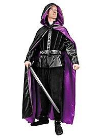 Wizard Reversible Robe black-purple