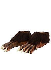 Wolf Feet made of latex