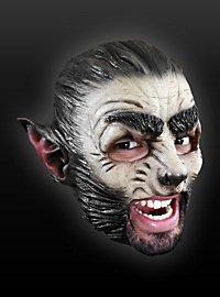 Wolf Kinnlose Maske aus Latex