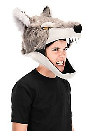 Wolf Kopfbedeckung