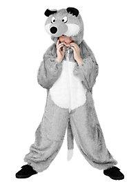 Wolf Onesie for Kids