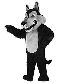 Wolfey the Wolf Mascot