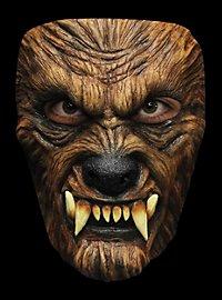 Wolfsbestie Maske des Grauens
