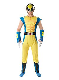 Wolverine Muscle Suit Costume