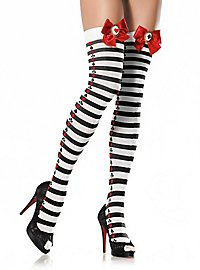 Wonderland Striped Stay up Stockings