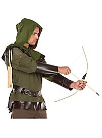 Wooden bow and arrow