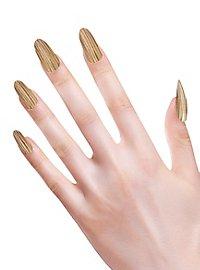 Wooden fingernails