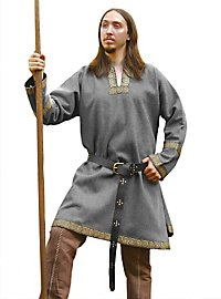 Woolen Viking Tunic grey