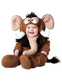 Woolly Mammoth Baby Costume