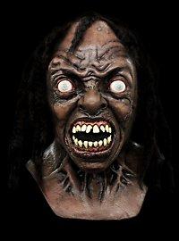 World War Z Labor Zombie Deluxe Maske aus Latex
