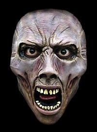 World War Z Schreiender Zombie Halbmaske aus Latex
