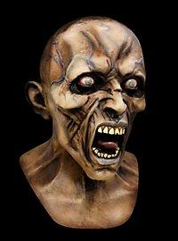 World War Z Wütender Zombie Deluxe Maske aus Latex