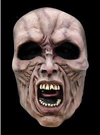 World War Z Wütender Zombie Halbmaske aus Latex