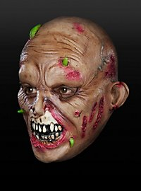 Wurmzombie Kindermaske aus Latex