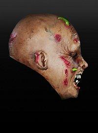 Wurmzombie Kindermaske aus Latex