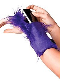 Wuschel-Handgelenktasche