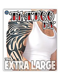 XL Tribal Temporary Tattoo