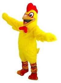 Yellow Chicken Mascot