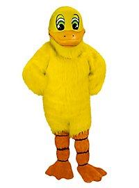 Yellow Duck Mascot