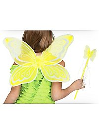 Yellow Fairy Accessory Kit for Kids