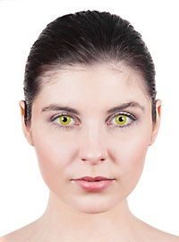 Yellow Prescription Contact Lens