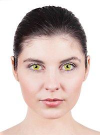 Yellow Prescription Contact Lens