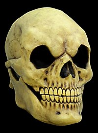 Yellowed Skull Mask of Horror
