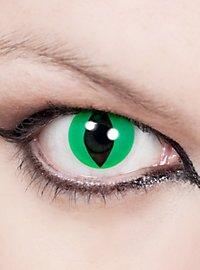 Lentilles de contact Yeux de chat vertes