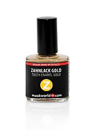 Zahnlack gold