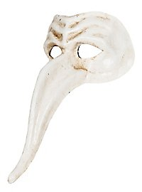 Zanni bianco Venezianische Maske