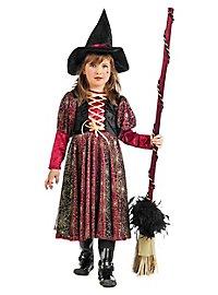 Zauberin Kinderkostüm